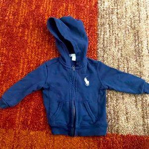 Ralph Lauren hoodie size 24months